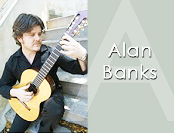 Alan Banks Perth Guitarist - Instrumental Guitar Player