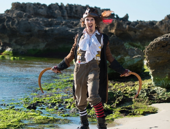 Pirateman Perth - Kids Entertainers - Impersonators