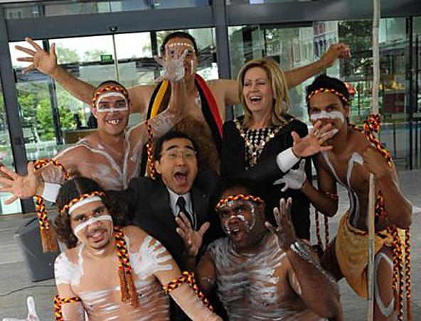 Aboriginal Dancers - Entertainers Dance Group Perth