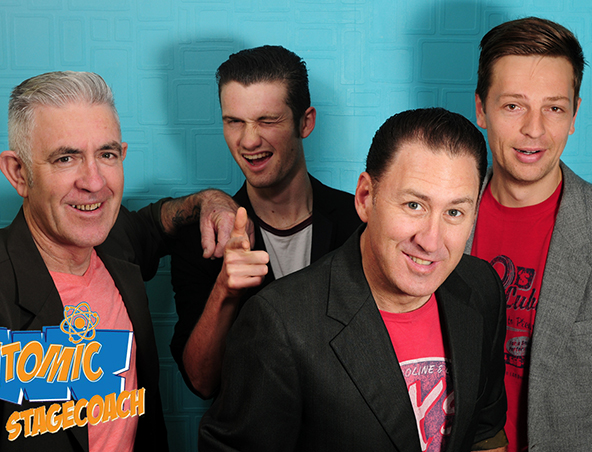 Atomic Stagecoach Rockn Roll Band Perth - Rockabilly