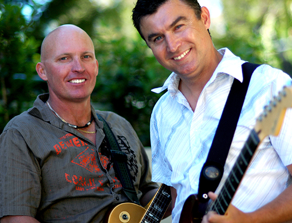 Double Trouble Music Duo Perth - Singers Musicians - Cover Band