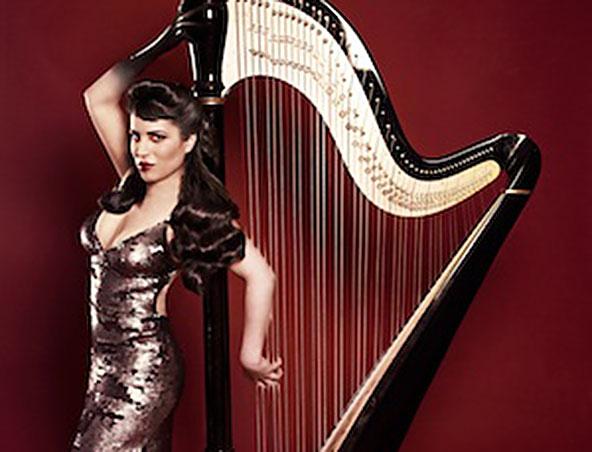 Harpist Perth - Harp Players in Perth - Musicians