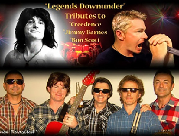 Legends Downunder Tribute Perth