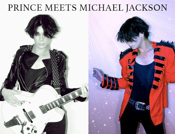 Prince Meets Michael Jackson Tribute