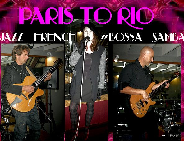 French Jazz Band - Paris To Rio - Singers - Musicians