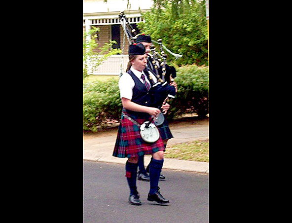 Perth Bag Piper - Bagpipes Player - Roving Musician - Scottish