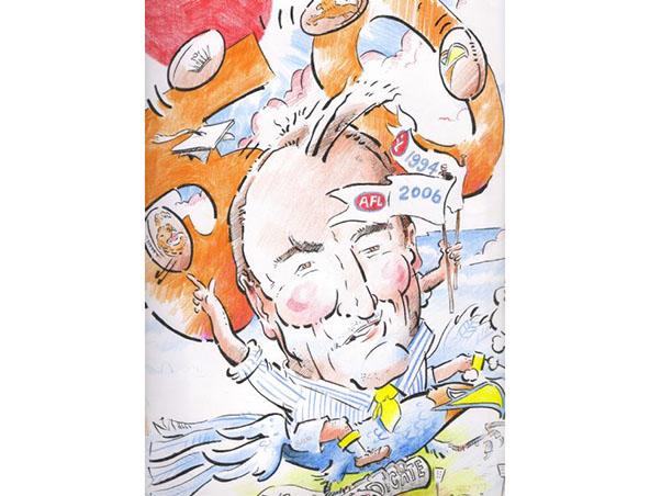 Perth Caricaturist - Mick Devine - Caricatures - Cartoonist