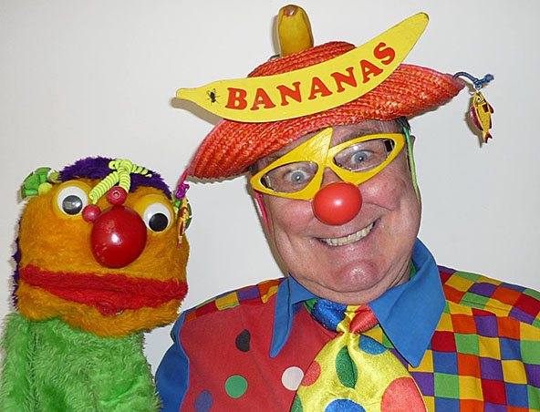 Bananas The Clown - Perth Clowns - Roving Entertainer