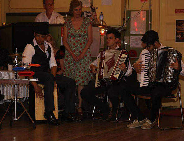 Perth Piano Accordion Player - Wedding Music Hire - Bands