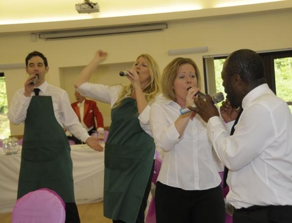 Singing Waiters Perth