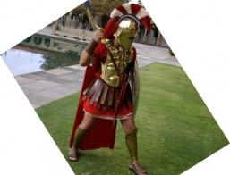 Spartan Impersonator