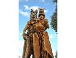 Kangaroos On Bouncy Stilts