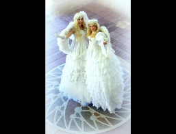 Stilt Walkers Feathered Angels